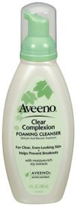 Aveeno Clear Complexion Foaming Cleanser, 6 Ounce (Pack of 3)