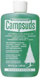 Campsuds in Nalgene