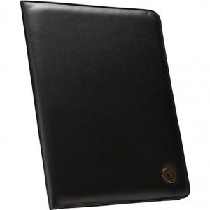 Case-it Executive Padfolio with Letter Size Writing Pad, Black, PAD-20