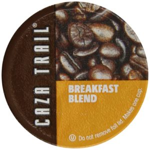 Caza Trail Single Serve Cup for Keurig K-cup Brewers, Breakfast Blend, 56 Count
