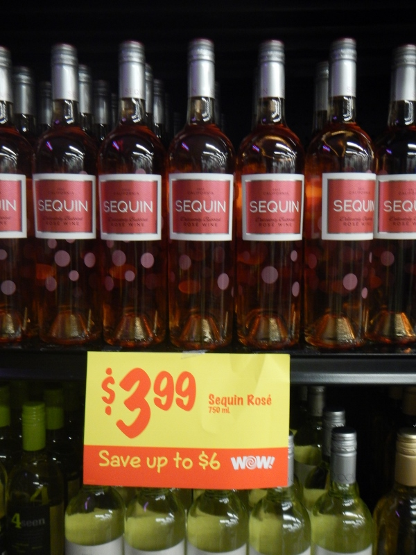 Rose at Grocery Outlet Wine Sale