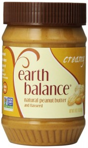 Earth Balance Peanut Butter with Flax Seed, Creamy, 16 Ounce