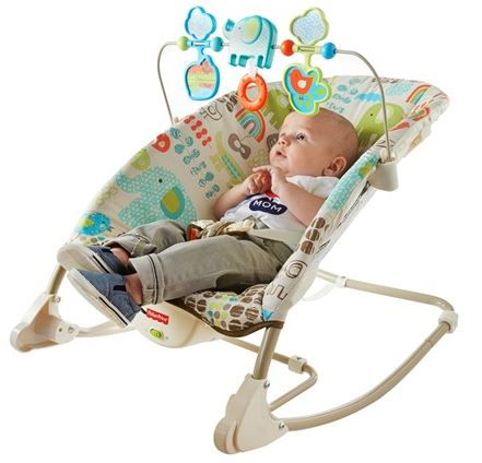 Fisher-Price Deluxe Infant to Toddler Rocker Woot
