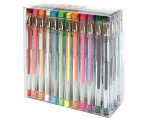 Fiskars 12-27457097 Gel Pen, 48-Piece Value Set