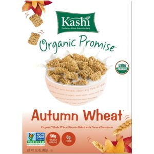 Kashi Organic Promise Cereal, Autumn Wheat, 16.3-Ounce Boxes (Pack of 4)