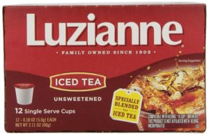 Luzianne Iced Tea, Unsweetened, 12 Count