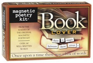 Magnetic Poetry Kit Book Lover