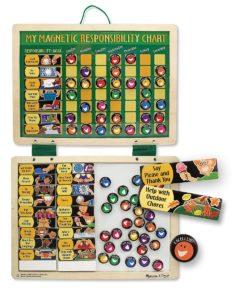 Melissa & Doug Deluxe Magnetic Responsibility Chart