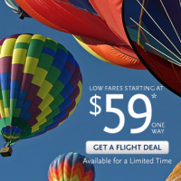 Alaska Air: Flights as low as $69/one way from SEA