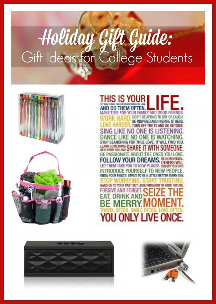 Holiday Gift Guide: Gift Ideas for College Students