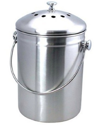 Compost Bin, Stainless Steel