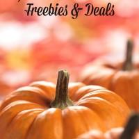 Halloween Freebies & Deals 2016