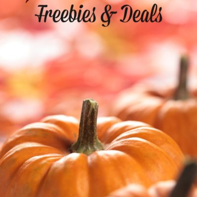 Halloween Freebies & Deals 2018