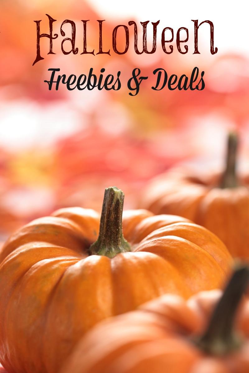 halloween freebies & deals 2017