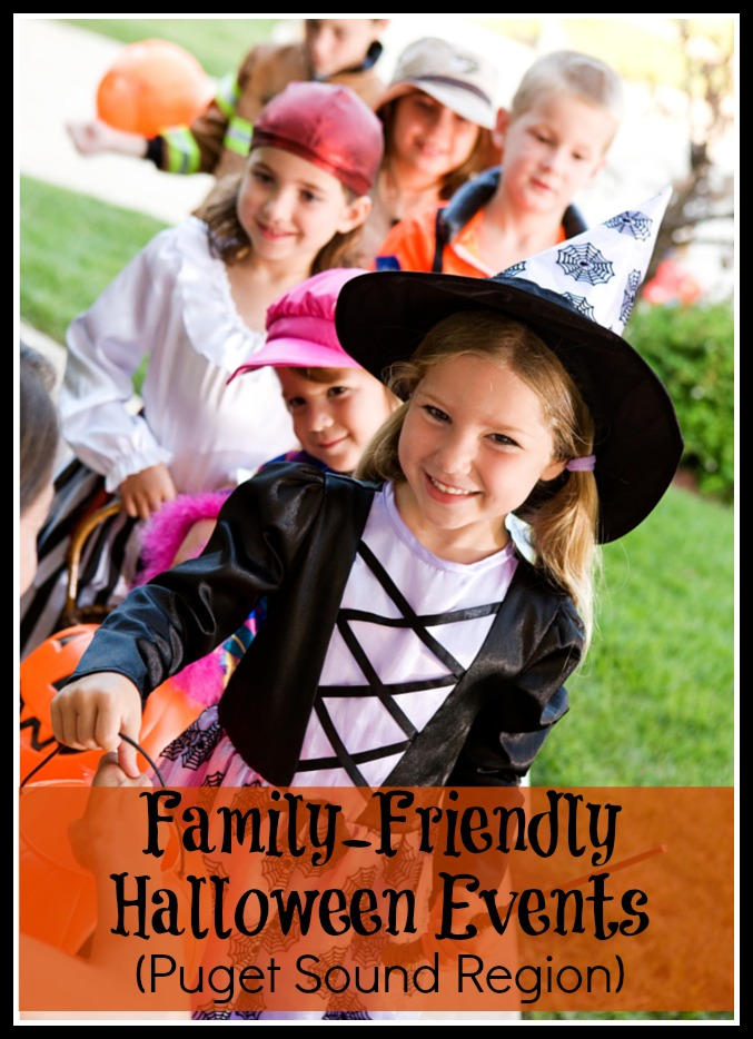 Family Friendly Halloween Events Puget Sound Area