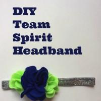 DIY Team Spirit Headband