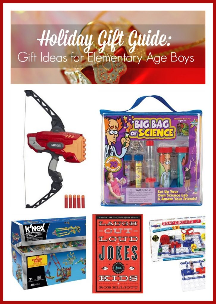 Holiday Gift Guide: Best Gift Ideas for Elementary Age Boys