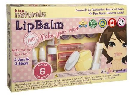 Kiss Naturals Lip Balm Set: Make your own lip balms