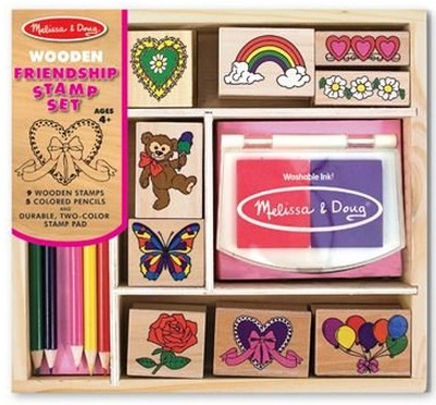 Melissa and Doug Friendship Stamp Kit: Gift Ideas for Girls