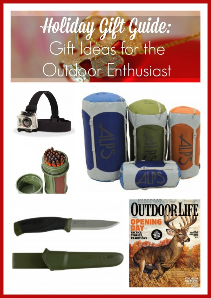 Holiday Gift Guide: Gift Ideas for the Outdoor Enthusiast