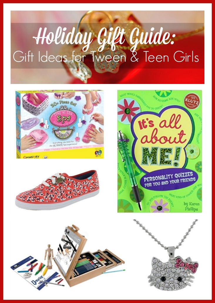 Holiday gift guide gift ideas for tween teen girls for Best christmas vacation ideas