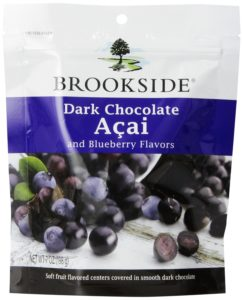 Brookside Dark Chocolate Covered Acai and Blueberries, 7-Ounce (Pack of 4)