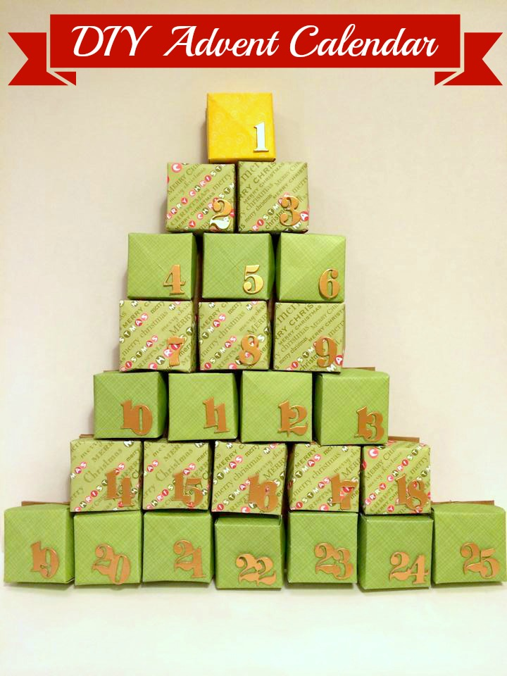 DIY Advent Calendar {Make it for less than $10!}