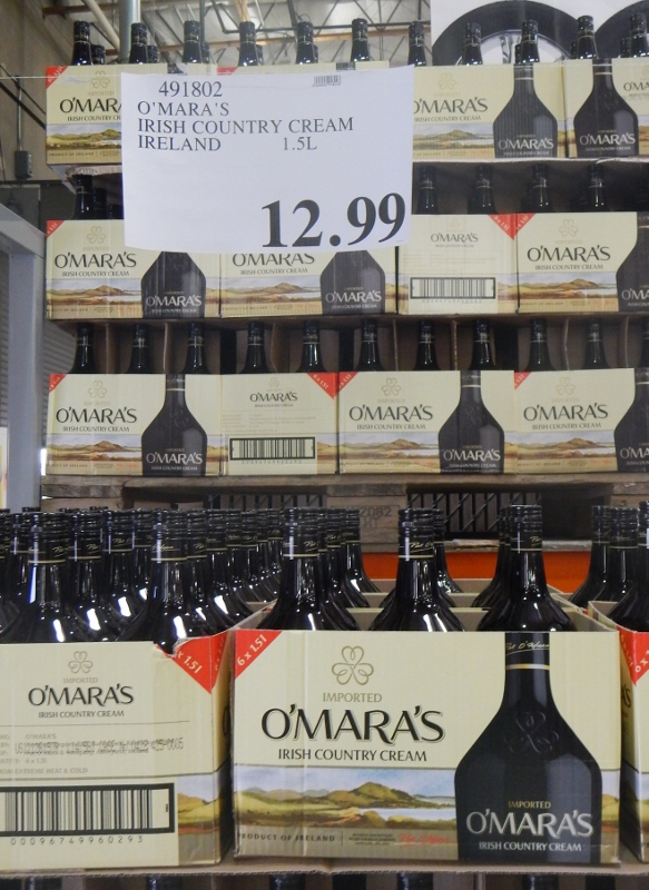O'Mara's Irish Country Cream at Costco