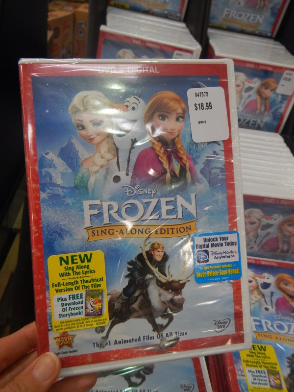Frozen Sing-a-Long Version at Costco