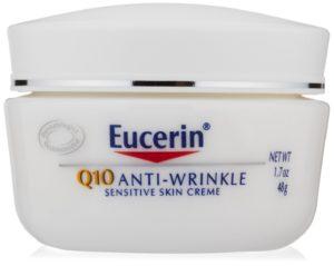 Eucerin Q10 Anti-Wrinkle Sensitive Skin Creme, 1.7 oz. - Copy