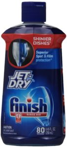 Finish Jet Dry Dishwasher Rinse Aid, 8.45 Ounce (Pack of 4)