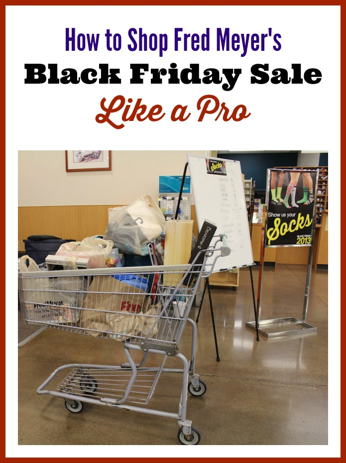 How to Shop Fred Meyer's Black Friday Sale {Like a Pro!}