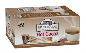 Grove Square Hot Cocoa, Milk Chocolate, 50 Count Single Serve Cups