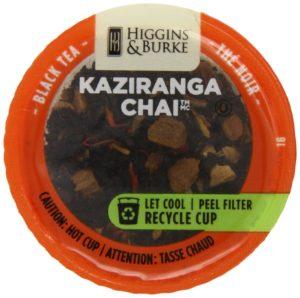 Higgins and Burke Loose Leaf Tea, Kaziranga Chai, 24 Count