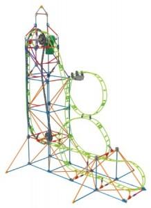 K'NEX Amazin' 8 Coaster Building Set
