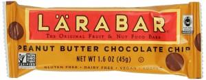 LARABAR Fruit & Nut Food Bar, Peanut Butter Chocolate Chip, Gluten Free 1.6 oz Bars (Pack of 16) - Copy