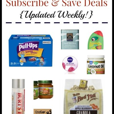 Best Amazon Subscribe & Save Deals: Gatorade Protein Bars, Reynolds Wrap Foil, Tide Laundry Detergent + More!