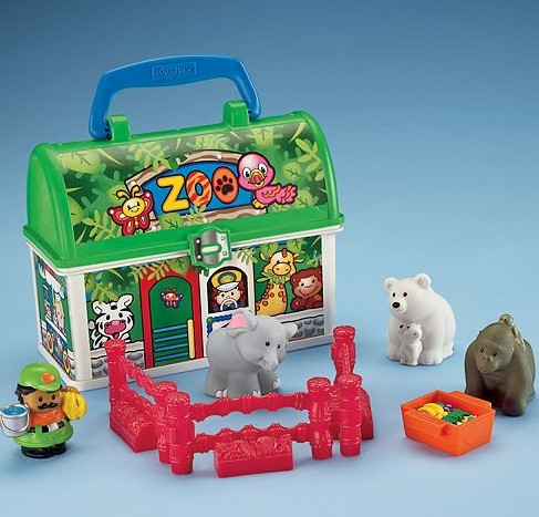 Fisher Price Take-Along Zoo: Kohl's Black Friday Deal