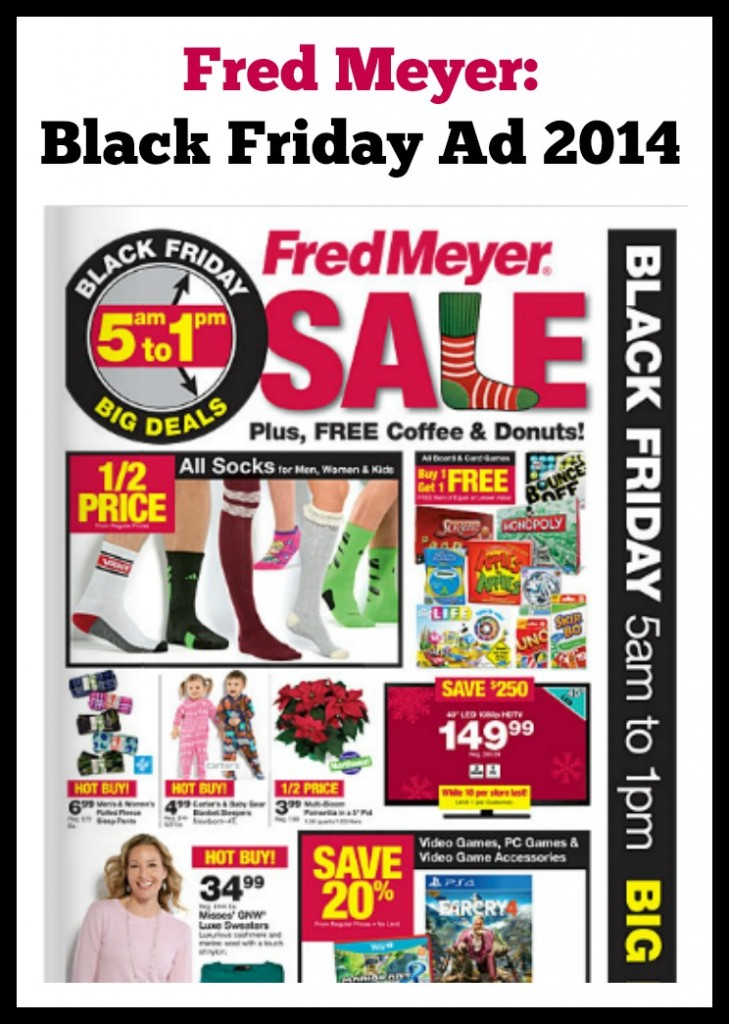 Fred Meyer Black Friday Ad 2014 - The Deals, the Doorbusters, the DONUTS!
