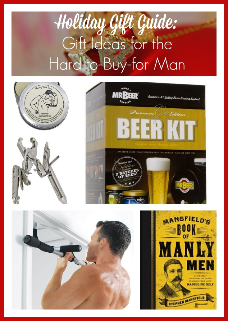 Holiday gift guide gift ideas for the hard to buy for man for Gift with purchase ideas