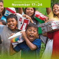 Operation Christmas Child Shoeboxes: Collection Week November 17 – 24