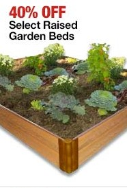 Raised Beds - 40% off Home Depot Black Friday
