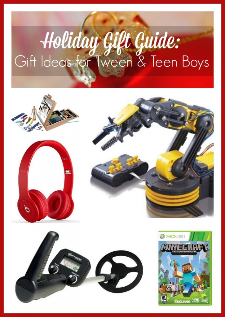 Holiday Gift Guide: Gift Ideas for Tween & Teen Boys