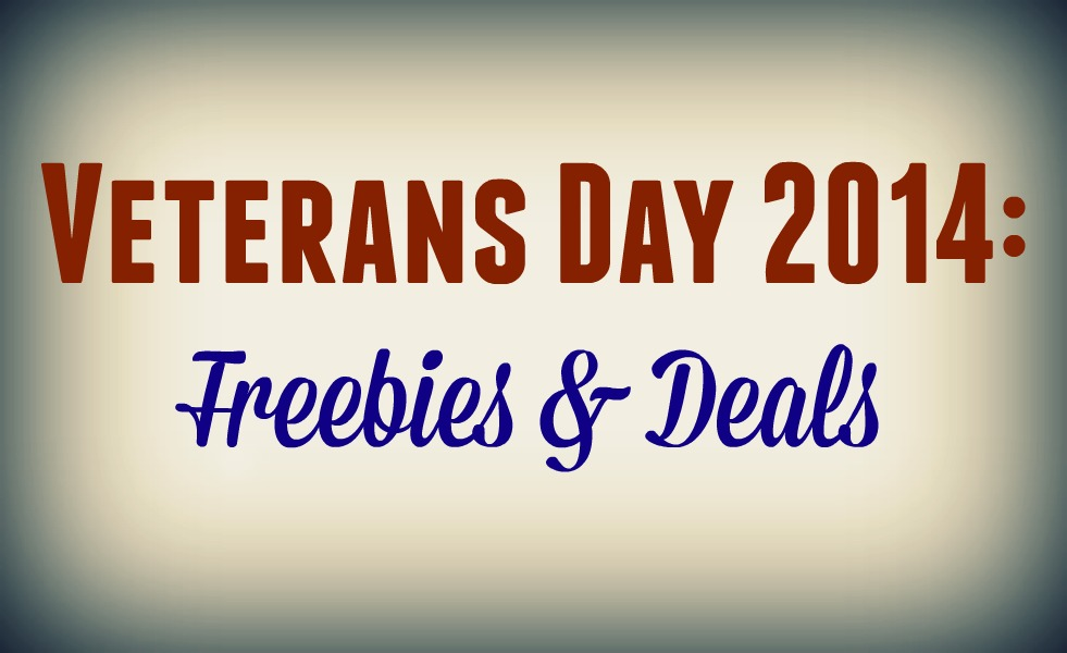 Veterans Day 2014: Freebies & Deals
