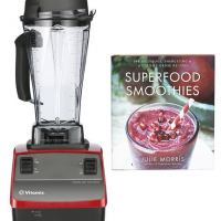 Vitamix Sale at Zulily: $264.99 for Reconditioned Blender (Red, Black)