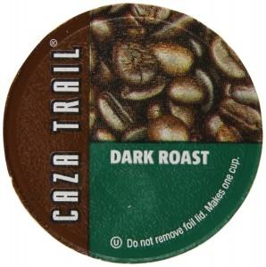 Caza Trail Coffee, Dark Roast, 56 Single Serve Cups