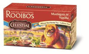 Celestial Seasonings African Tea, Madagascar Vanilla Red, 20-Count Tea Bags (Pack of 6)