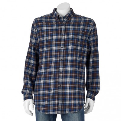 Croft & Barrow Plaid Flannel Casual Button-Down Shirt - Men