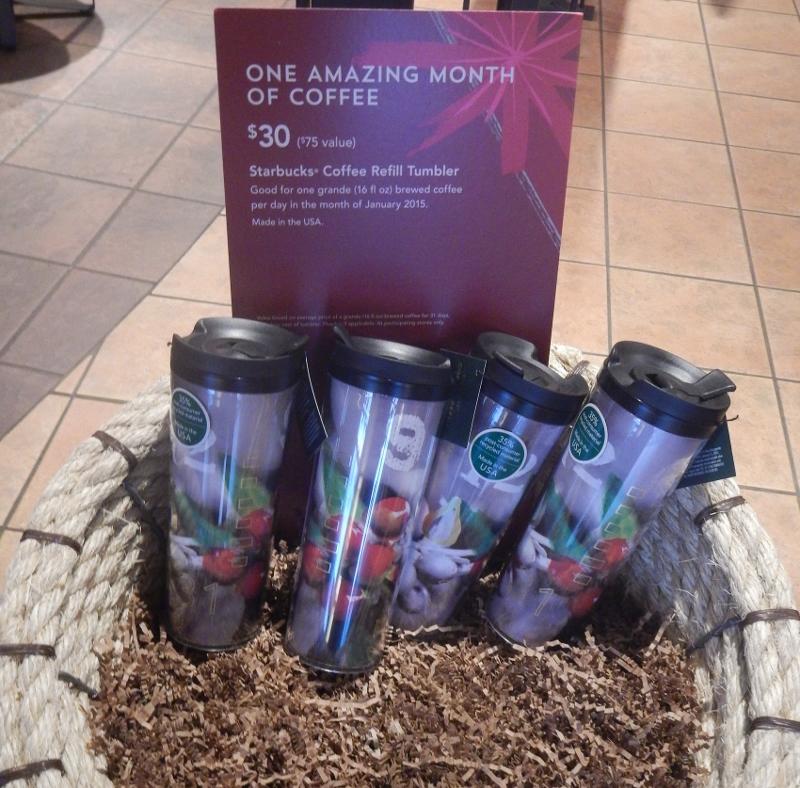 Starbucks Coffee Refill Tumbler - $30