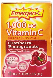 Emergen-C Cranberry-Pomegranate, 10-count